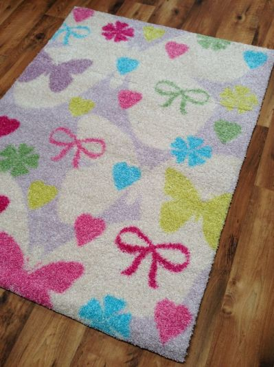 BUTTERFLY AND RIBBONS RUG